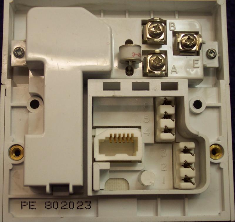 Wiring Information Telephones Uk, Bt Phone Socket Wiring Diagram